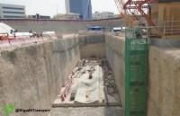 """""""قطار الرياض"""": الانتهاء من صب القواعد لانطلاق آلة الحفر الشمالي"""