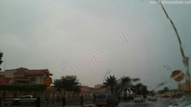 أجواء الخفجي صباح اليوم (8)