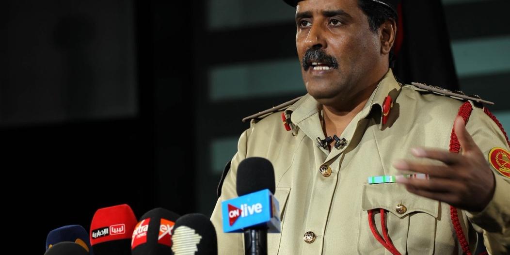 الجيش الليبي: حان وقت معاقبة قطر
