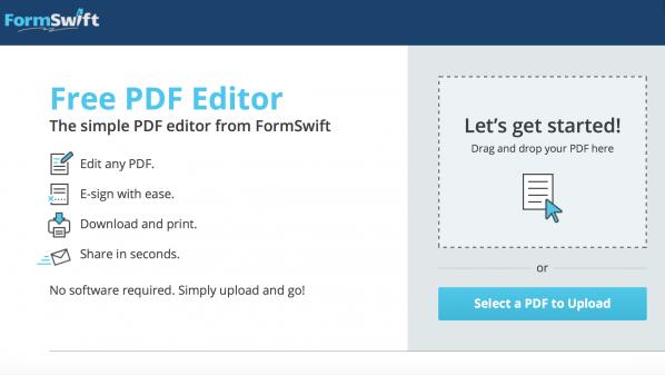 أداة لتعديل ملفات PDF أونلاين