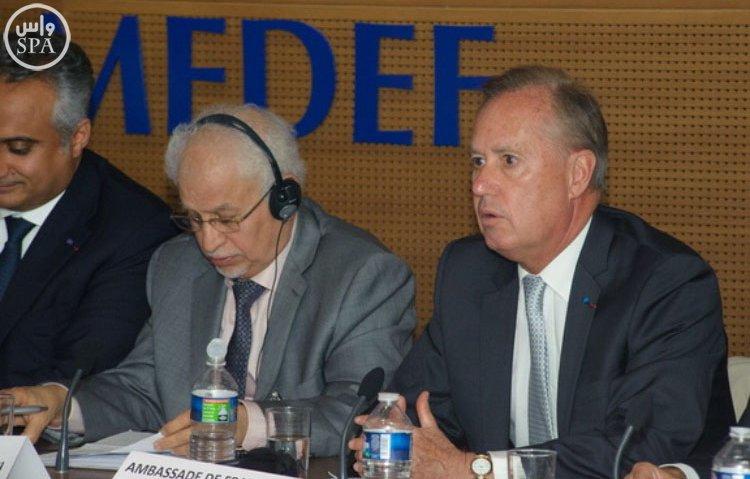 أربعة وزراء سعوديين يستعرضون رؤية 2030 في مجلس الأعمال السعودي – الفرنسي (5)