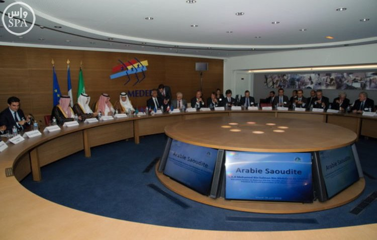 أربعة وزراء سعوديين يستعرضون رؤية 2030 في مجلس الأعمال السعودي – الفرنسي (9)