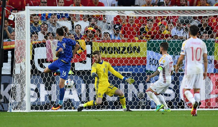 أسبانيا وكرواتيا