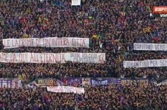 بالصور والفيديو.. جماهير فيورنتينا تخلد أستوري في أول مباراة بعد رحيله - المواطن
