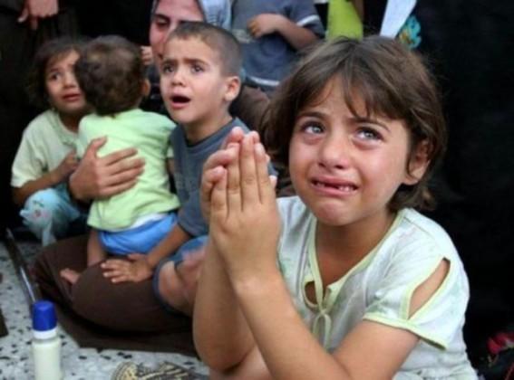 أطفال-غزة-527x390