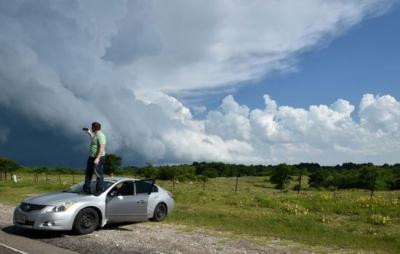أعاصير تضرب جنوب أوكلاهوما الأمريكية (1) 