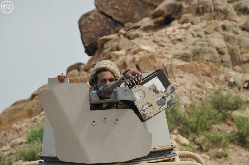 أعمال البطولية التي يقوم بها أفراد القوات المسلحة بالخطوط الأمامية بالشريط الحدودي 4