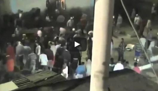 شاهد .. كاميرات مراقبة تلتقط أعمال شغب في سجن بالمكسيك