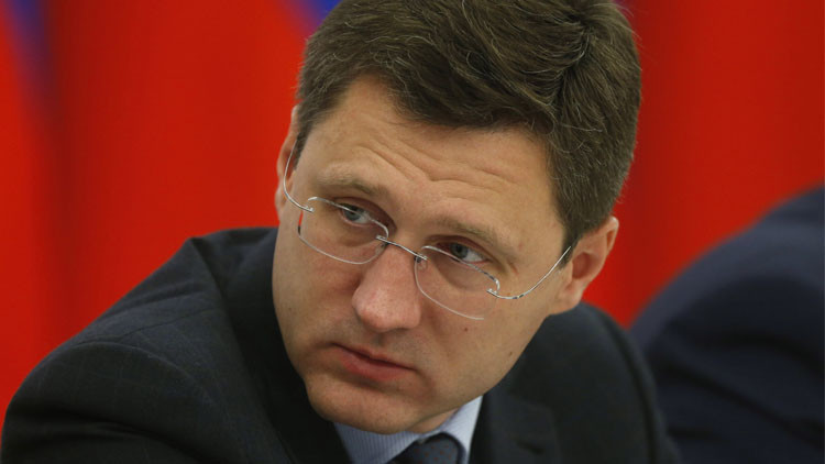 ألكسندر نوفاك، وزير الطاقة الروسي