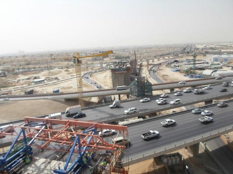 أمانة الرياض تُنفِّذ أعلى جِسْر جنوبي العاصمة بطول 1660 متراً