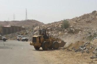بدعم الأمن.. إزالة 26 إحداثًا مخالفًا وتعديًا على أراضٍ حكومية بالطائف - المواطن