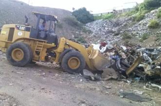 أمانة عسير تُزيل أكثر من ٣١ ألف طنّ من النفايات خلال شهر شوال - المواطن