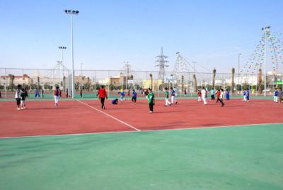 أمانة منطقة الرياض تقيم دوري رياضي للحواري3