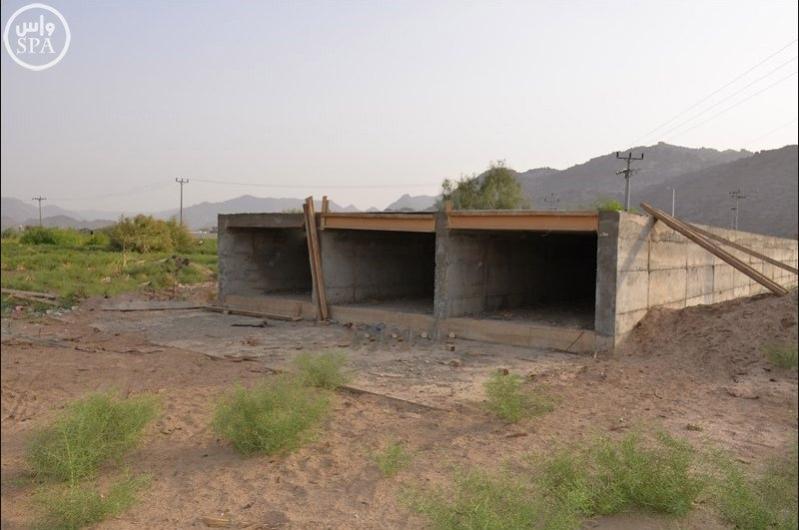 أمانه نجران تنجز 95 % من مشروع درء أخطار السيول بحي الموفجة