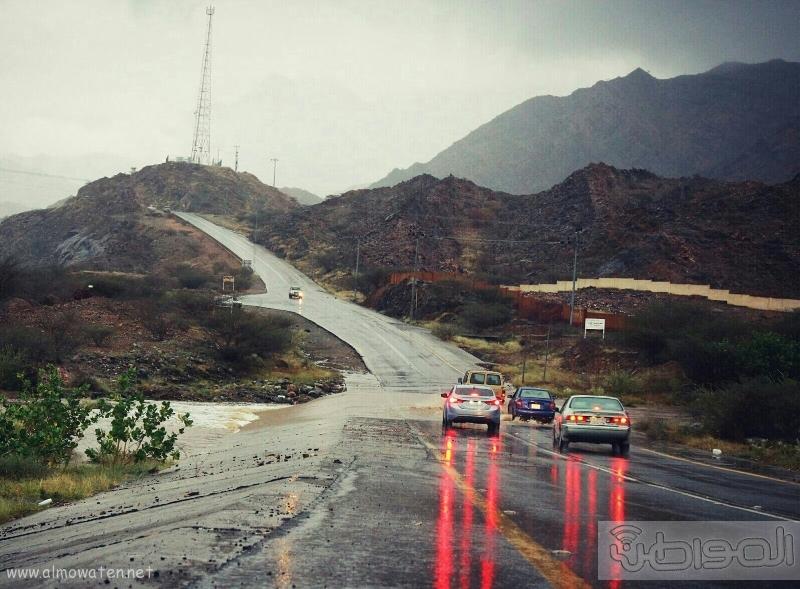 أمطار أضم (11)
