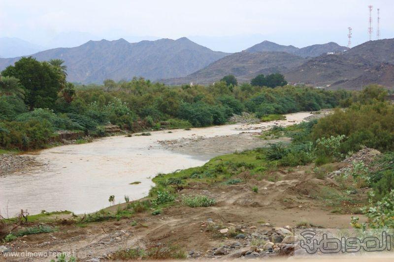 أمطار أضم (14)