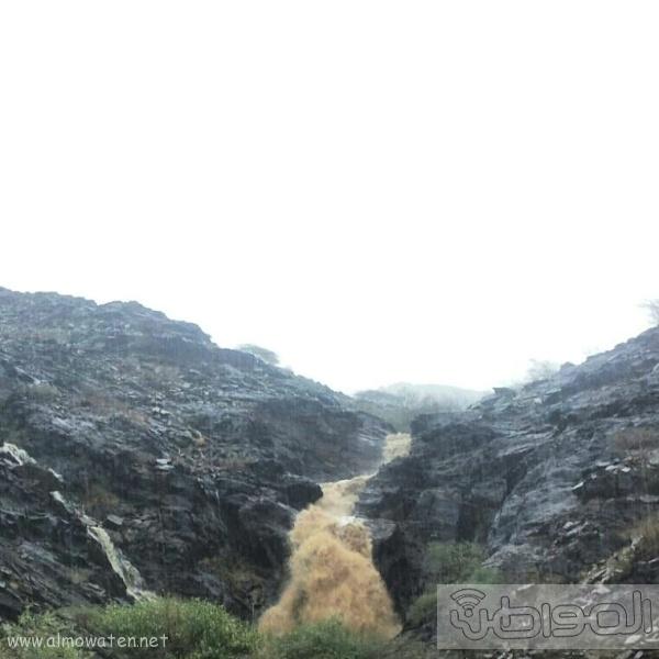 أمطار أضم (5)