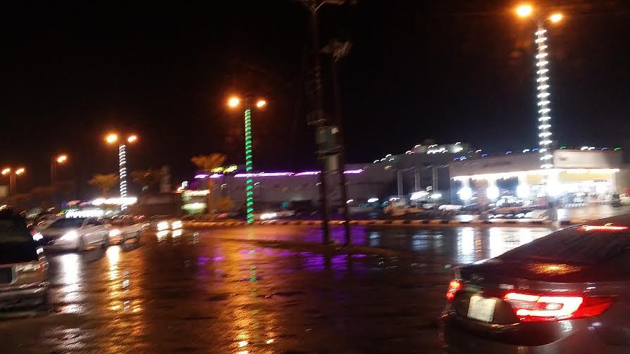أمطار الشريط الساحلي 3