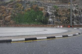 أمطار الطائف1