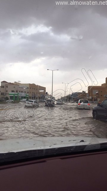أمطار #القصيم .. إخلاء 3 منازل وإيواء 26 شخصًا في #بريدة (4)