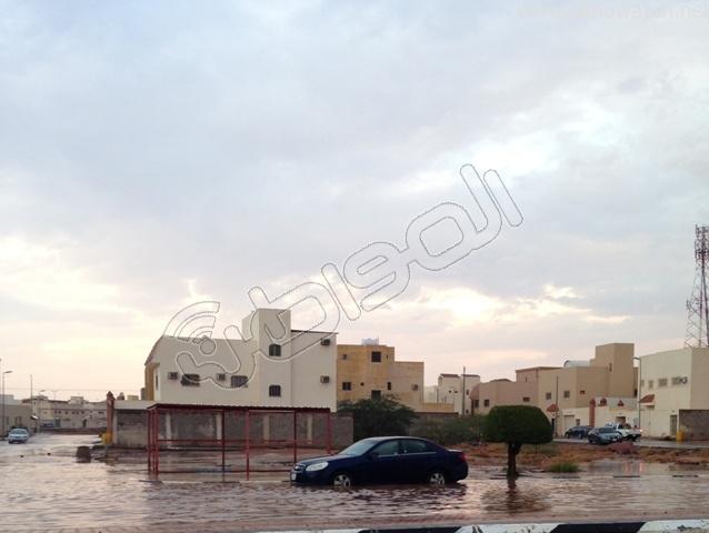 أمطار #القصيم .. إخلاء 3 منازل وإيواء 26 شخصًا في #بريدة (7)