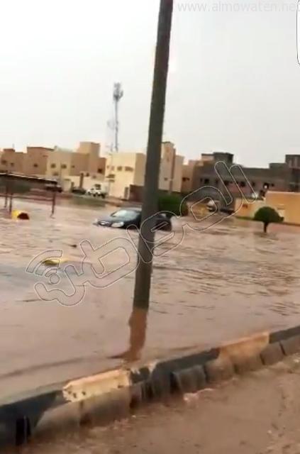 أمطار #القصيم .. إخلاء 3 منازل وإيواء 26 شخصًا في #بريدة (9)