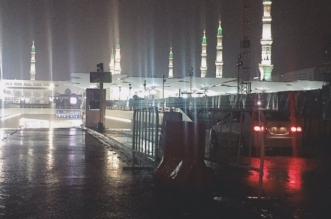 المدينة المنورة .. 14 ساعة من الأمطار والبرد مع أتربة - المواطن