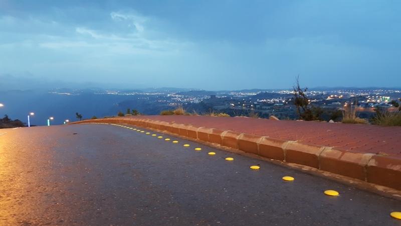 أمطار النماص 12