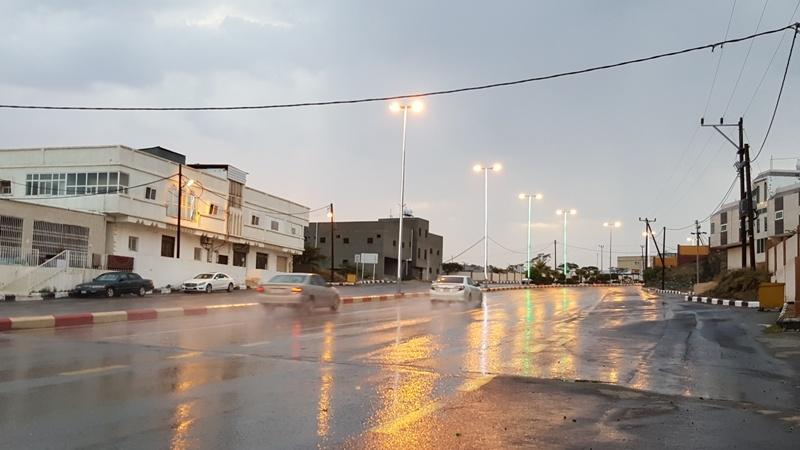أمطار النماص 5