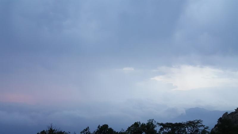أمطار النماص 7