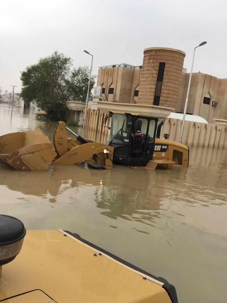 أمطار #بريدة بين ساخر ومطالب بمحاسبة الفساد (5)