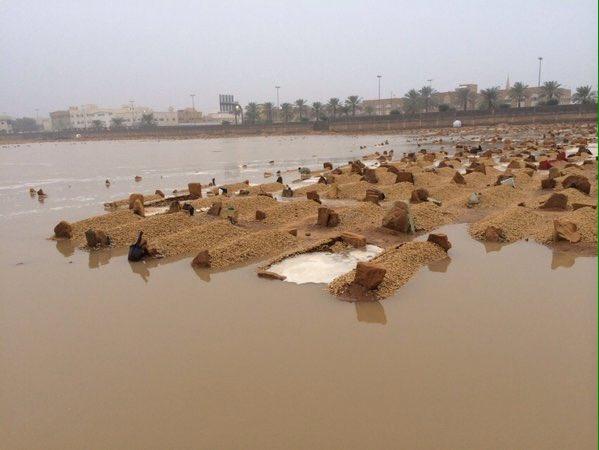 أمطار #بريدة بين ساخر ومطالب بمحاسبة الفساد (8)