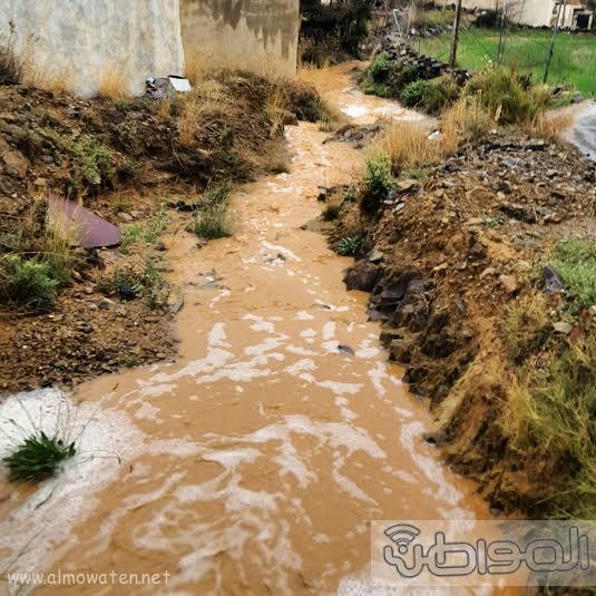 أمطار بلسمر بـ #عسير1