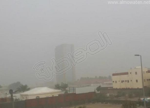 أمطار شبه متوسطة على الأجزاء الشمالية من #جدة (2)