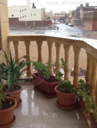 أمطار شبه متوسطة على الأجزاء الشمالية من #جدة (3)