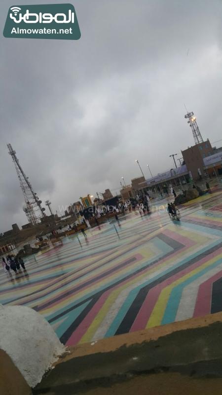 أمطار عسير تكشف جمالها وتجذب الزوّار للمتنزهات (8)