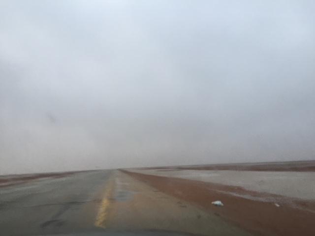أمطار غزيرة تتواصل على #رماح (8)