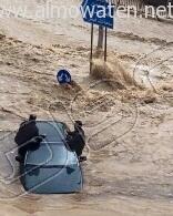 أمطار غزيرة تُعلق الدراسة وتوقف السير بالعاصمة الأردنية (10)