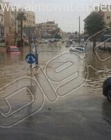 أمطار غزيرة تُعلق الدراسة وتوقف السير بالعاصمة الأردنية (11)