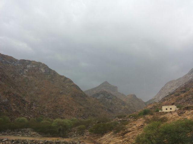 أمطار غزيرة على #أضم ومراكزها (4)