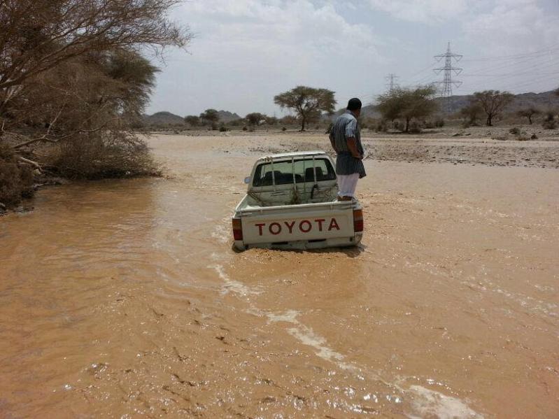 أمطار غزيرة على القرى ومحافظات المدينة المنورة 5