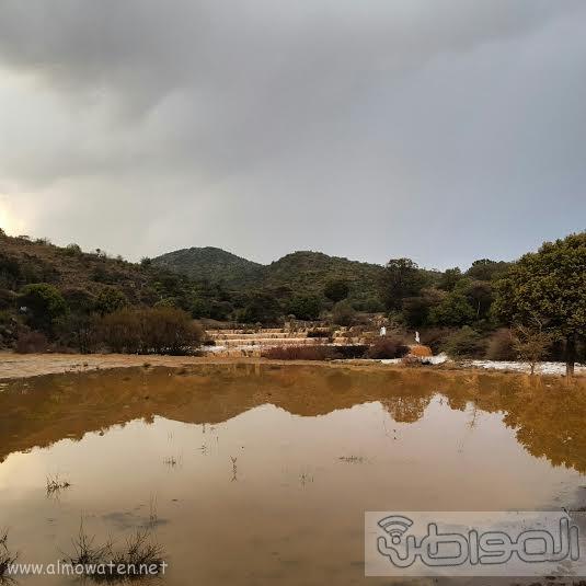 أمطار غزيرة على شمال #عسير3