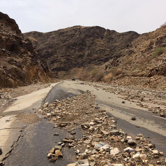 أمطار قرى كساب 4