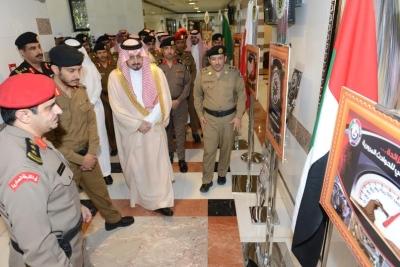أميرعسير يدشن فعاليات اسبوع المرور الخليجي 20161