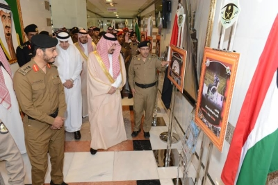 أميرعسير يدشن فعاليات اسبوع المرور الخليجي 20162