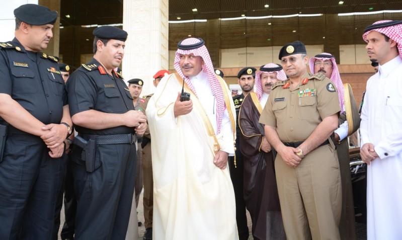 أمير الباحة يطلق الهوية الجديدة للدوريات الأمنية 2