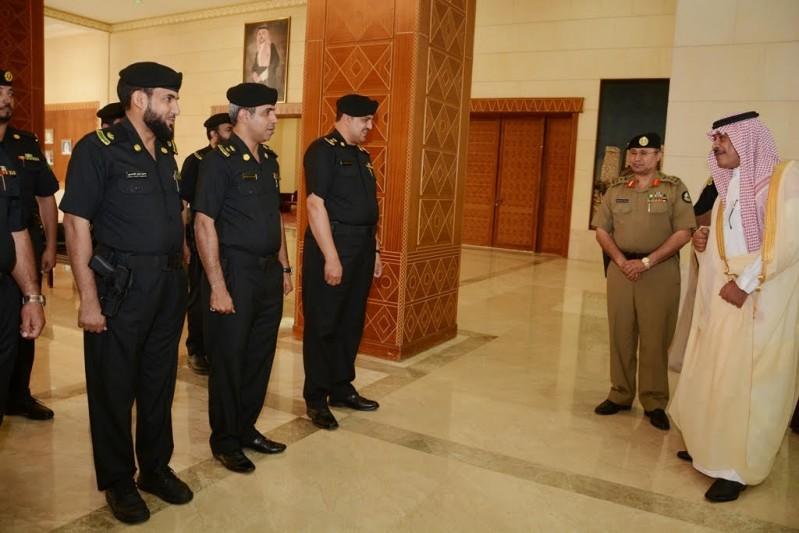 أمير الباحة يطلق الهوية الجديدة للدوريات الأمنية 4