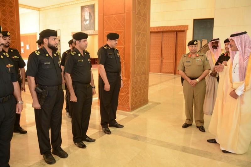 أمير الباحة يطلق الهوية الجديدة للدوريات الأمنية 5