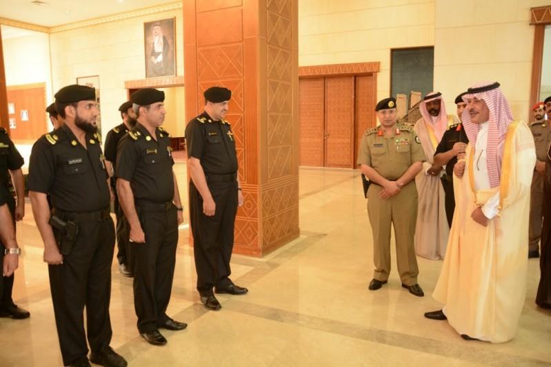 أمير الباحة يطلق الهوية الجديدة للدوريات الأمنية 6