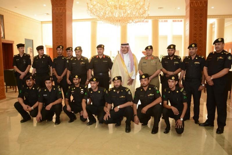 أمير الباحة يطلق الهوية الجديدة للدوريات الأمنية 7